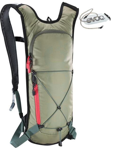 EVOC CC Lite Performance Backpack 3l + 2l Bladder light olive